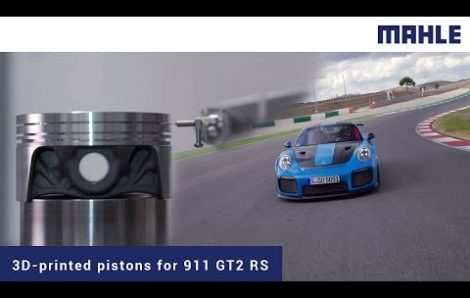 PORSCHE 911 GT2 RS RUNS on Pistons Developed by Mahle and Tested on RUMUL Testronic